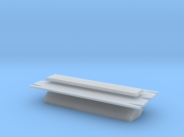 Sheet making tools for Peco KNR-10, N-gauge 15' ta in Smooth Fine Detail Plastic