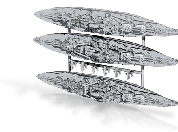 1/3000 WW2 Queen Elizabeth class BBs (3 of 5) 3d printed