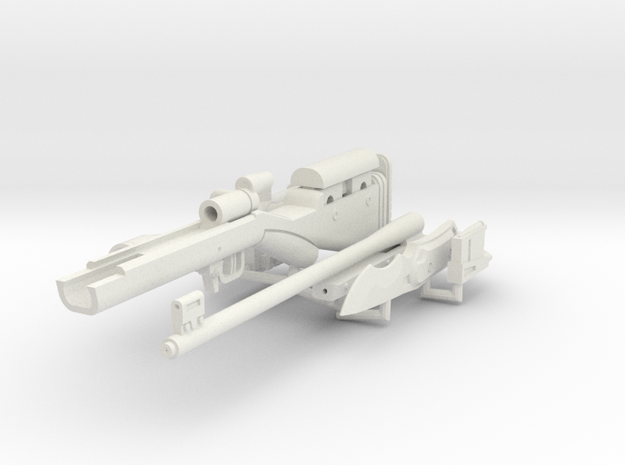 1:6 Mute Sniper Rifle + Dagger SF version