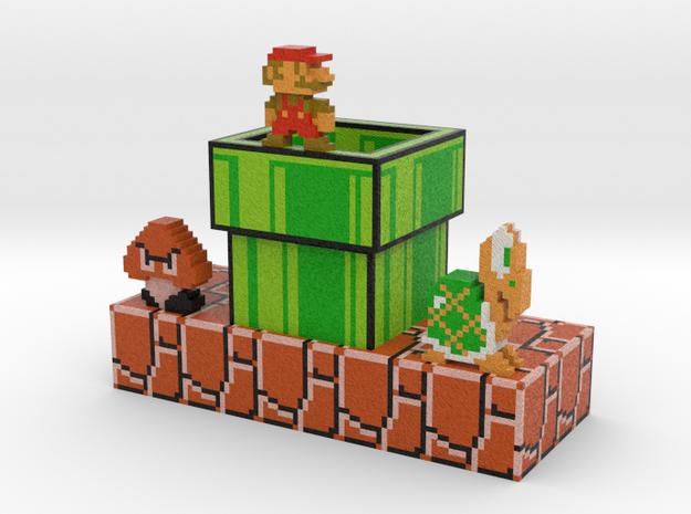 Mariorama 3d printed