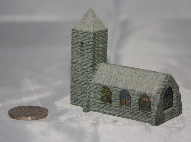 Church (Textured)  3d printed Add a caption...