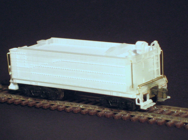 Pennsylvania H9 2-8-0 tender in N scale with Z sc in Frosted Ultra Detail