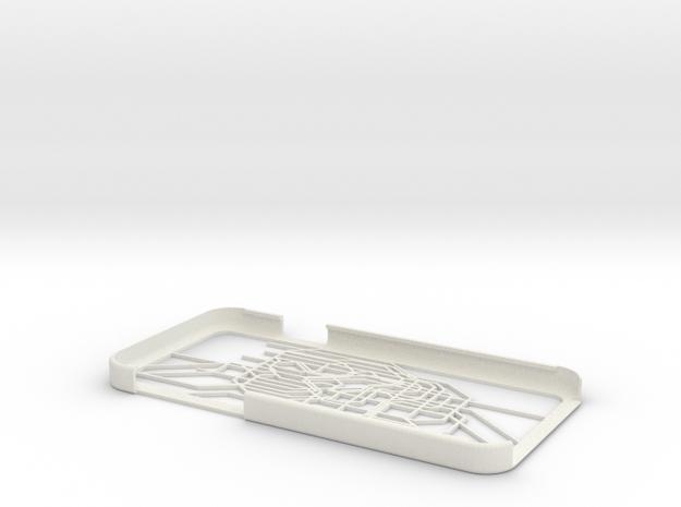 Tokyo Metro map iPhone 6 case in White Natural Versatile Plastic
