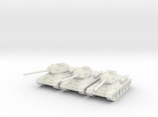 1/160 T-34-85 tank (3)