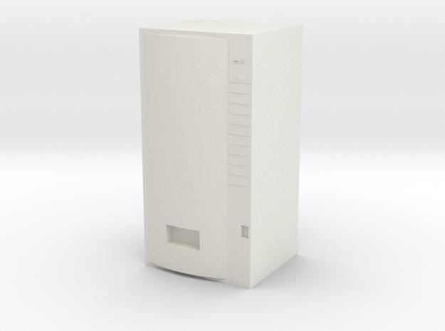 "Soda Machine for 3.75"" figures in White Natural Versatile Plastic"