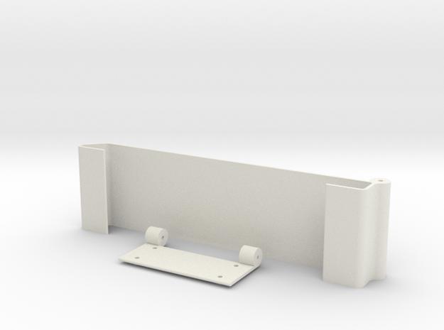 Ipad Under Cupboard Mount in White Natural Versatile Plastic