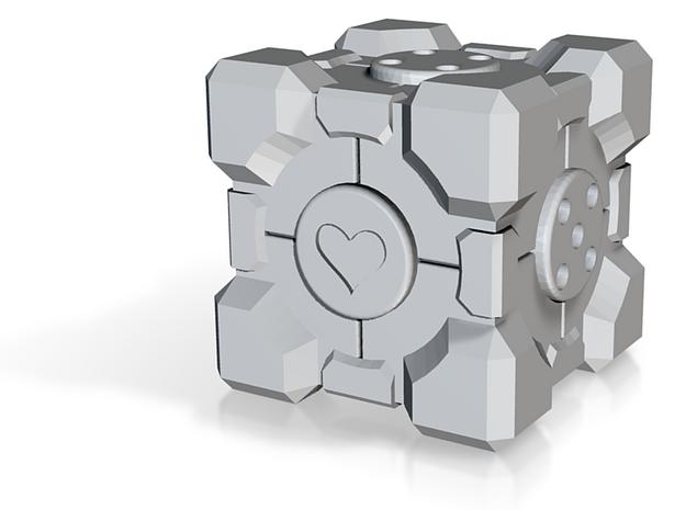 Companion Cube d6 Alternate 3d printed