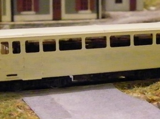 Autorail De Dion NR M21 Nm 1:160 3d printed undercoated body shell