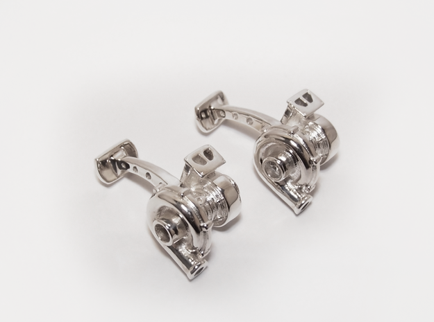 Full Turbocharger Cufflinks