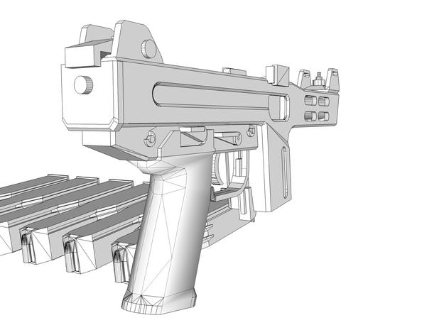 1:6 scale Falcon 3d printed