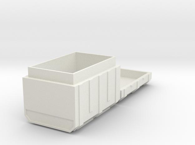 FTM Super Ammo in White Natural Versatile Plastic