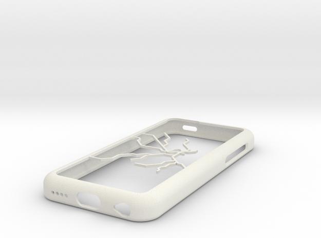 Stockholm Metro map iPhone 5c case in White Natural Versatile Plastic