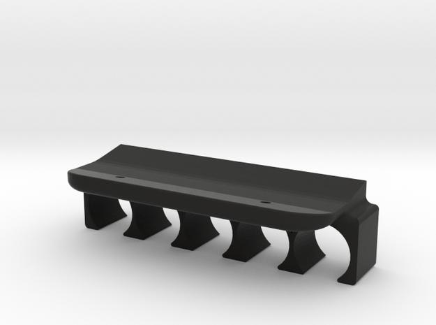 ATI Adjustable Stock Shell Holder 7 in Black Natural Versatile Plastic
