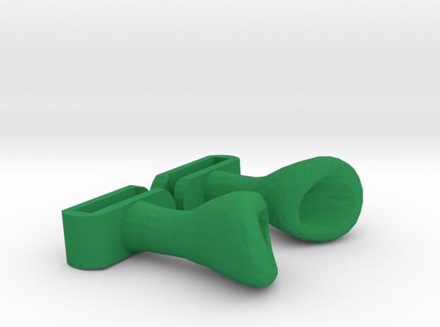 Shrek ears for Headphones in Green Processed Versatile Plastic