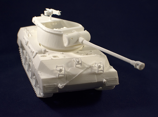 1:35 M18 Hellcat Tank Destroyer from World of Tank in White Natural Versatile Plastic