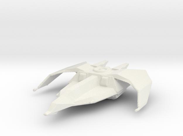 Banshee Fighter in White Natural Versatile Plastic