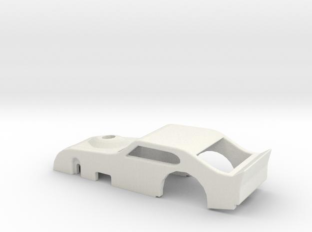 NASCAR Modified body in White Strong & Flexible