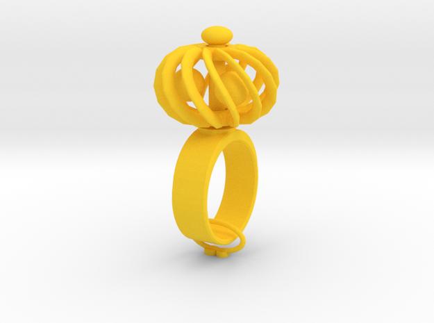 Turbine Fidget Ring 3d printed