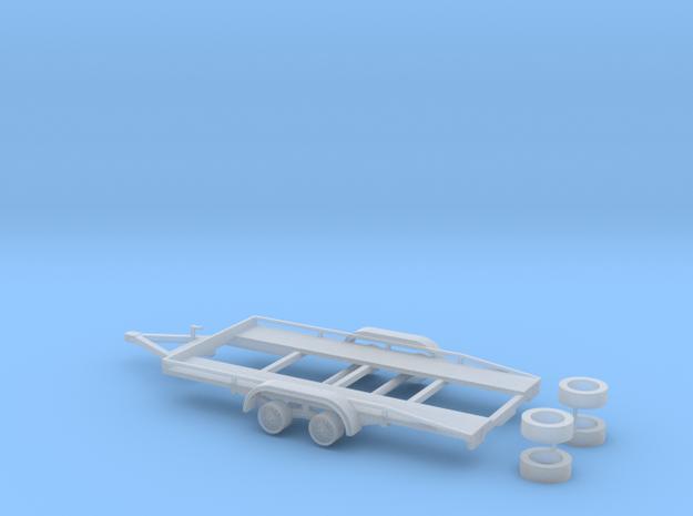 PKW Autotransport Anhänger / car Trailer - 1:87 H0