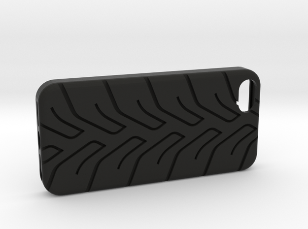 iPhone 5 case A048 tread in Black Natural Versatile Plastic