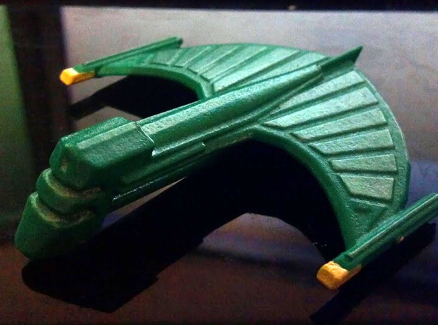 Romulan Shadow Wing 3d printed