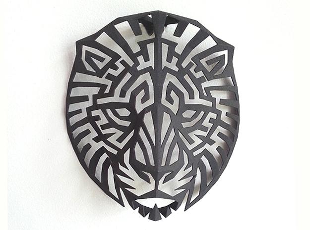 Modern Faux Taxidermy - Lion Head (M)