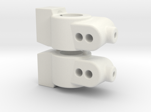 CUSTOMWORKS - HUB CARRIER - 6 DEGREE in White Natural Versatile Plastic