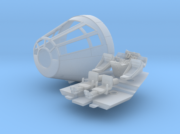 YT1300 HSBRO SET CABIN CONE LONG COCKPIT in Smooth Fine Detail Plastic