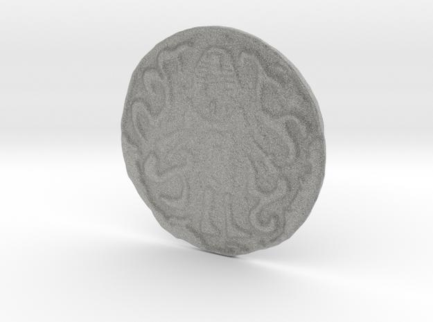 Nyarlathotep Coin 3d printed