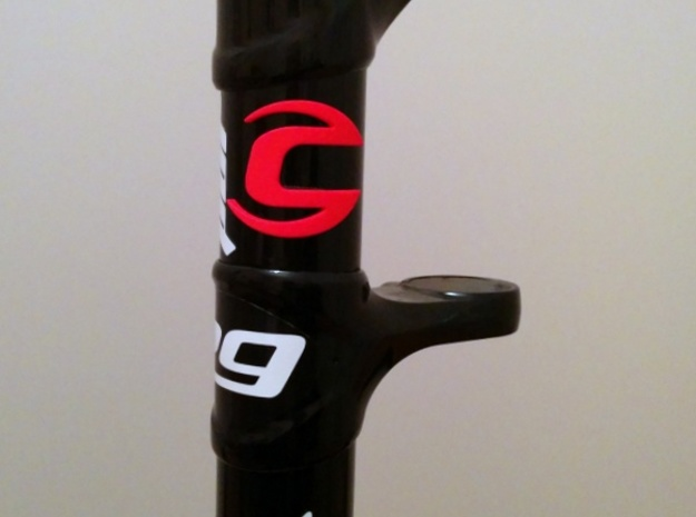 Cannondale bicycle front logo 3d printed