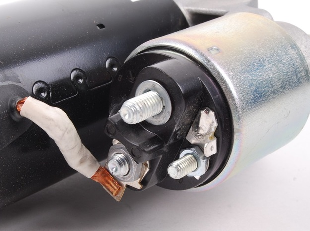 Porsche 956 Starter Motor (for MFH 1:12) in Frosted Extreme Detail
