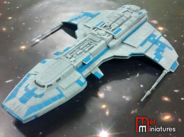 Marauder Corvette 1/510 + 2 Large Stands