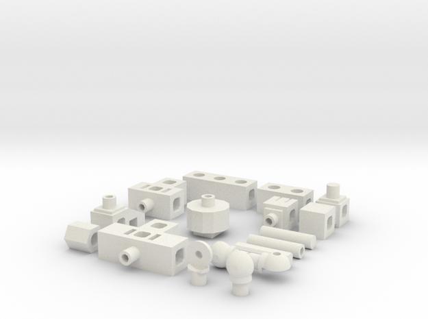 Phi.lix in White Natural Versatile Plastic