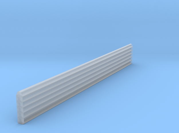 HO Scale 120 degree Structure Corner Trim in Frosted Ultra Detail
