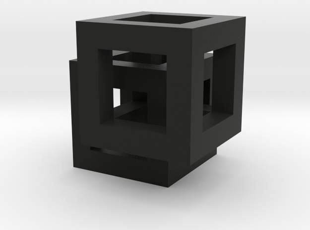 Rivilo Pendant in Black Natural Versatile Plastic