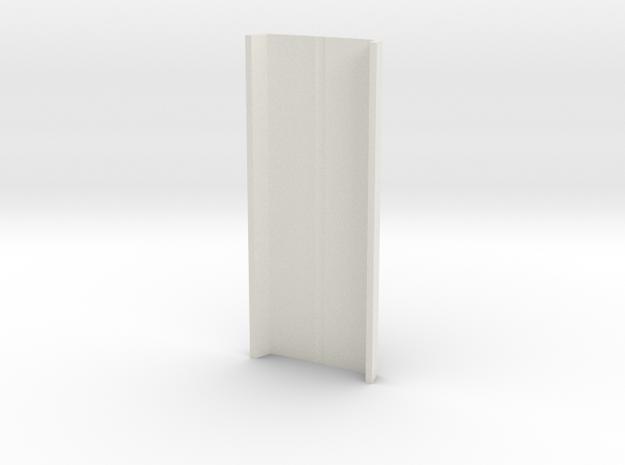 Mold V004_hollowNoSides in White Natural Versatile Plastic