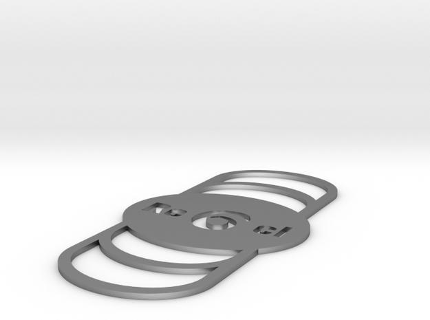 Logosmall061mm in Raw Silver