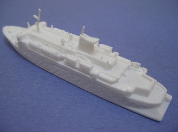MS Expedition (1:1200) 3d printed