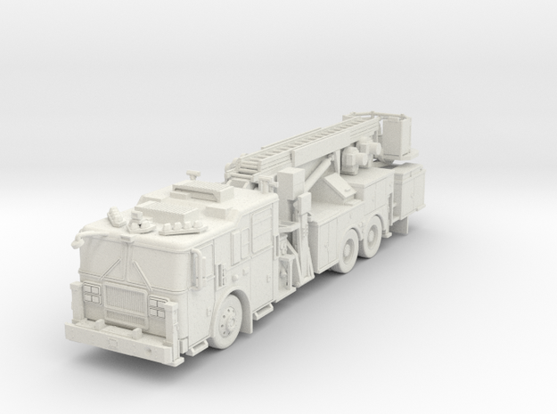 ~1/64 FDNY Seagrave Marauder II Tower in White Natural Versatile Plastic