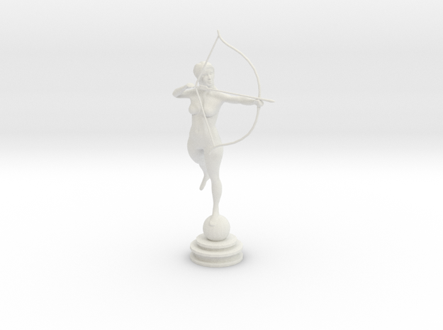 Bow n Arrow in White Natural Versatile Plastic