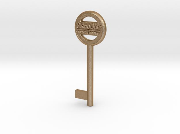 PianoDisc Key 1 in Matte Gold Steel
