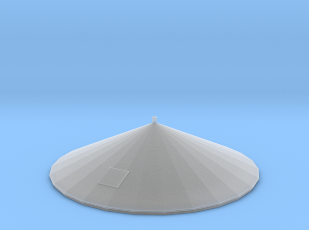 N Scale PEIR 25K Gal Roof in Smooth Fine Detail Plastic