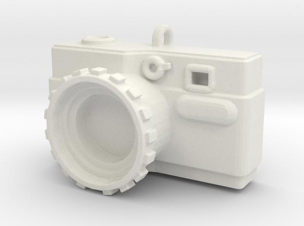 CameraPendant in White Natural Versatile Plastic