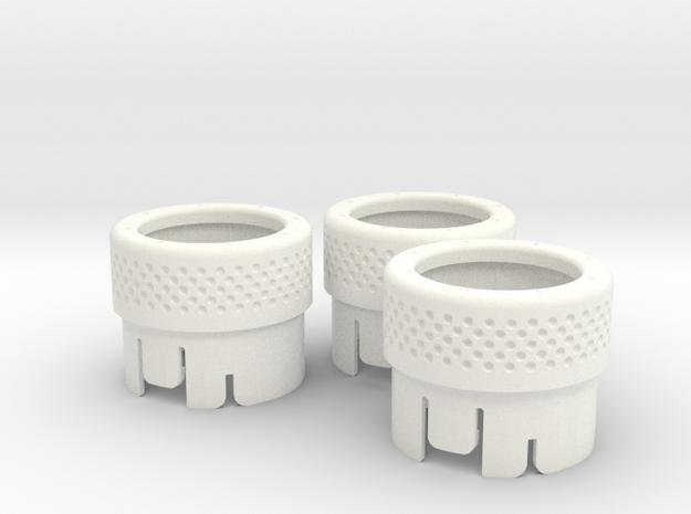 BRZ 72324CA000-001 Set in White Processed Versatile Plastic