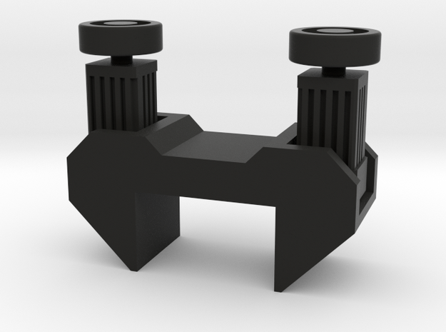 Transfer motors block in Black Natural Versatile Plastic