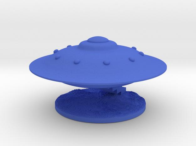 Spaceship Landing 3d printed
