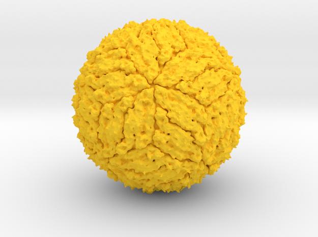 Dengue Virus - 1 Million X in Yellow Processed Versatile Plastic
