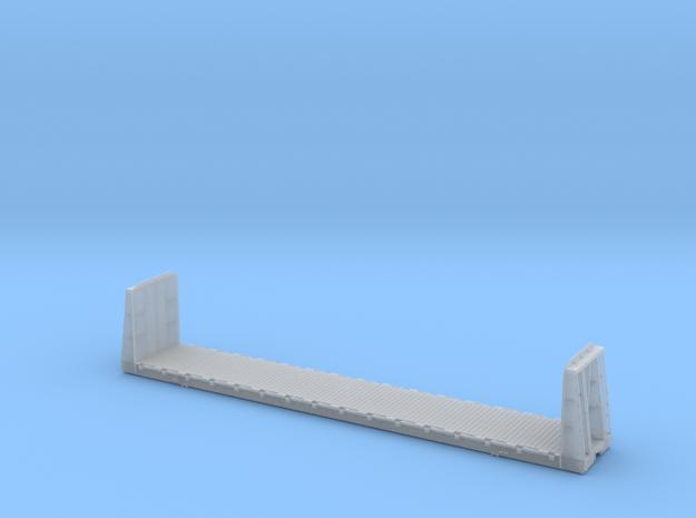 Bulkhead Flatcar TTPX TSH71C - HO Scale in Smooth Fine Detail Plastic