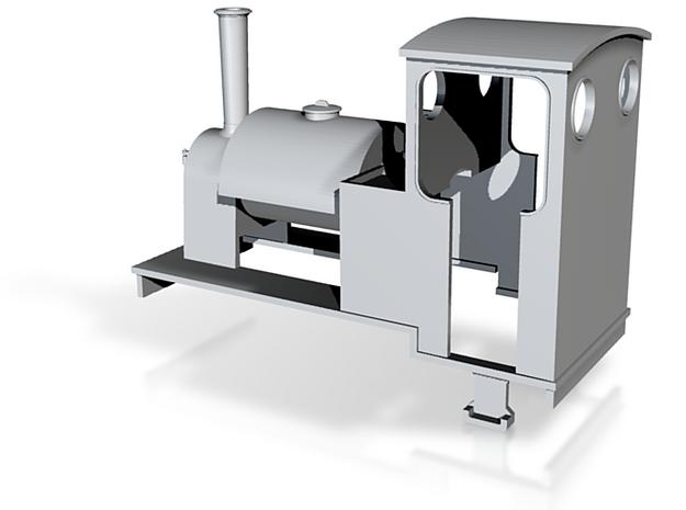 O9 Saddle-tank loco  3d printed