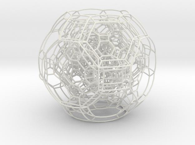 F4 3.2inch in White Natural Versatile Plastic